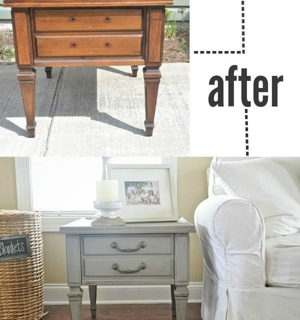 How To Distress Furniture With Paint Easily