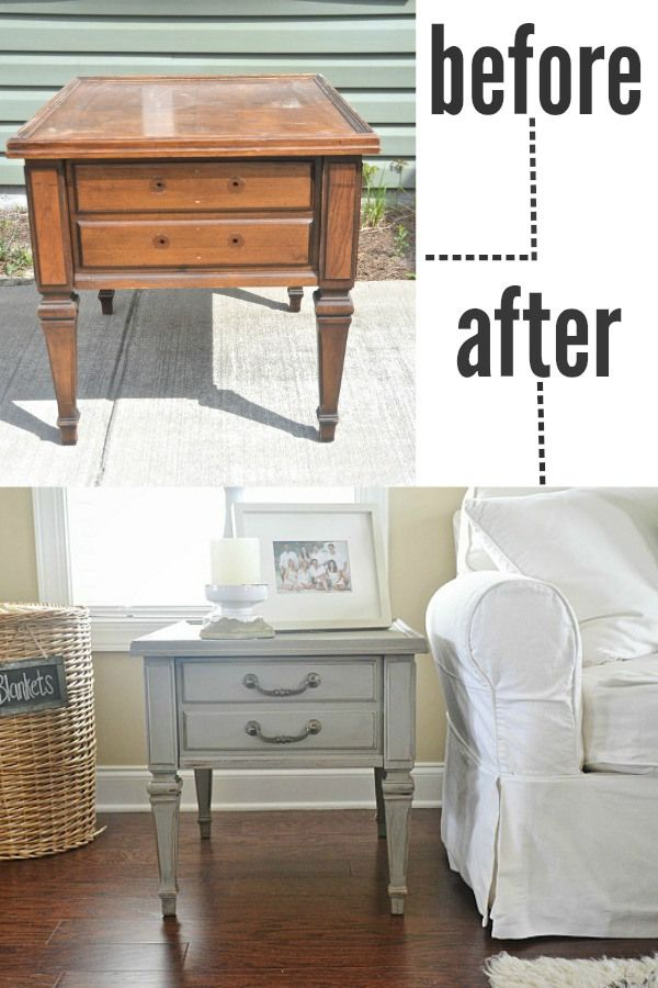 how to distress furniture with paint