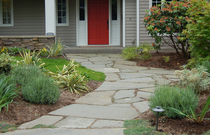 Easy Ways to Design Home Front Garden