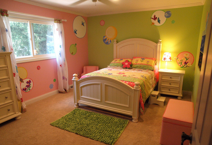 Different bedroom decorating ideas - Little girls bedrooms ...