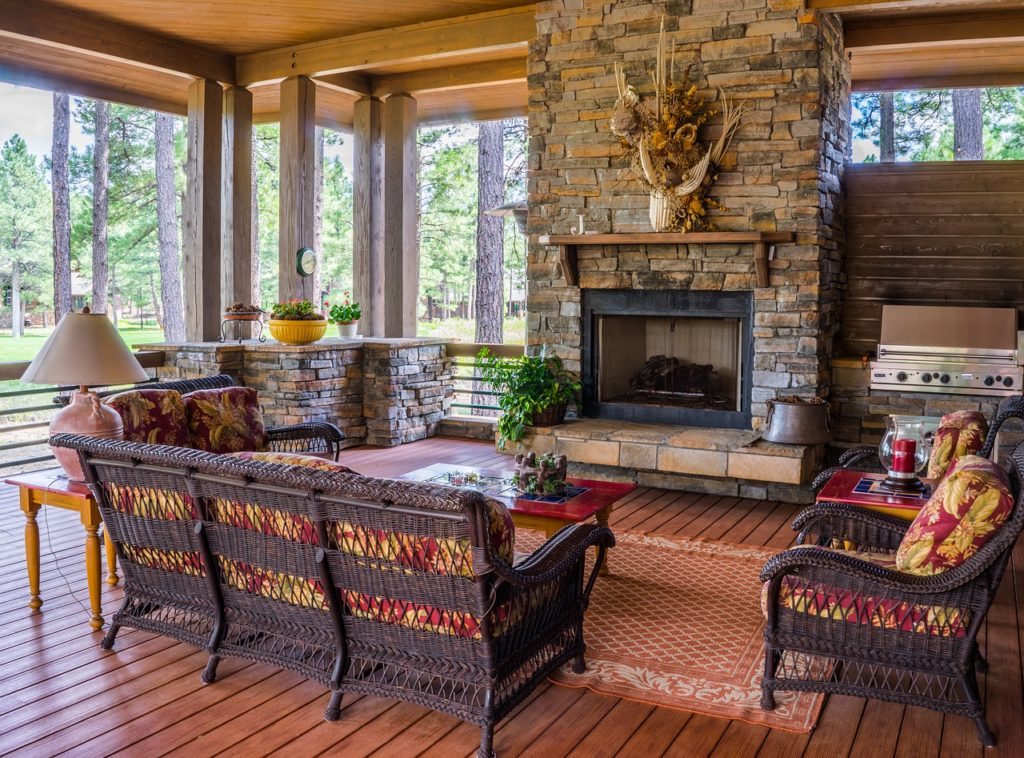 Patio Sunroom Furniture Ideas