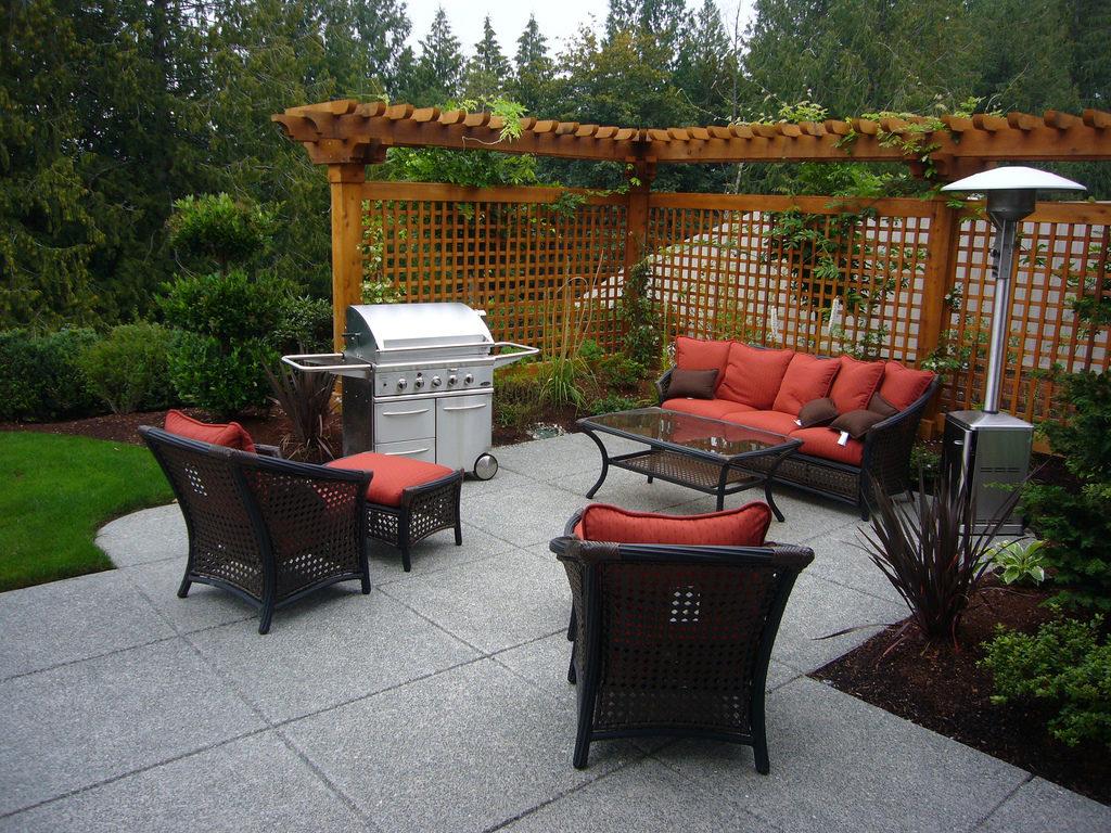 Rattan Garden Sunroom Furniture Ideas