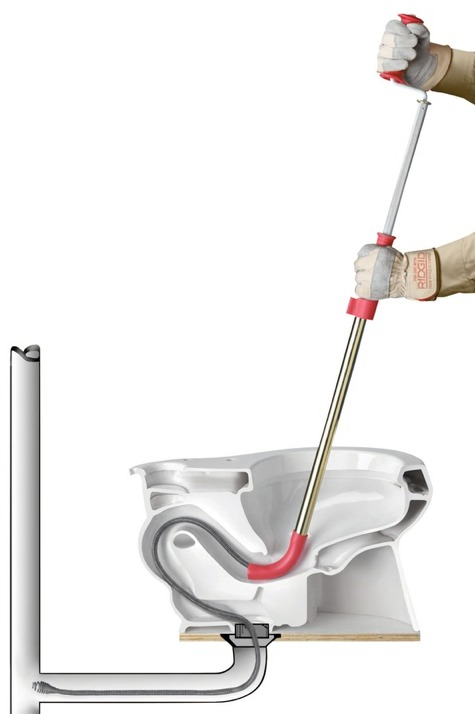 How to Unclog a Toilet with a Snake Easily
