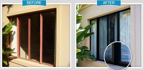 Paint Aluminum Window Frames Frame Design Reviews