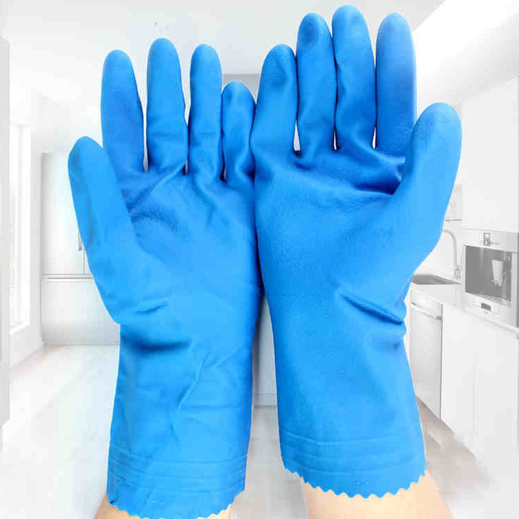 Use your arm and have rubber gloves