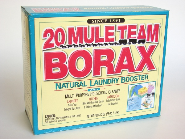 Borax and Vinegar