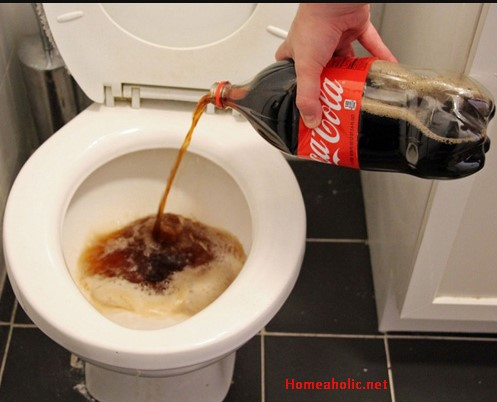 how to clean toilet bowl stains with coke. Black Bedroom Furniture Sets. Home Design Ideas