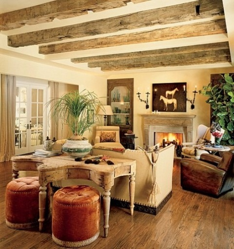 Modern Rustic Living Room Ideas - Homeaholic.net