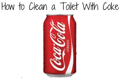 How to Clean Toilet Bowl Stains with Coke