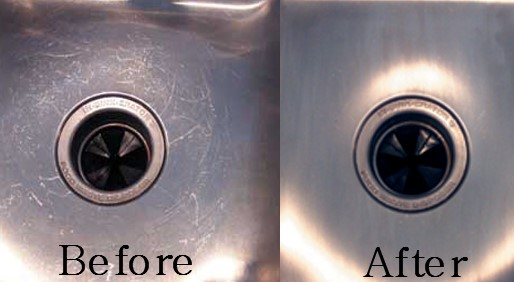Attirant How To Clean Stainless Steel Sink Scratches