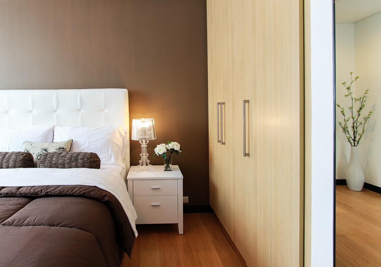 how to make small bedrooms look bigger homeaholic net built in storage furniture