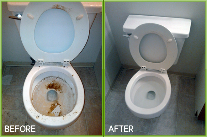 Clean Toilet with Vinegar and Baking Soda- The Advantages