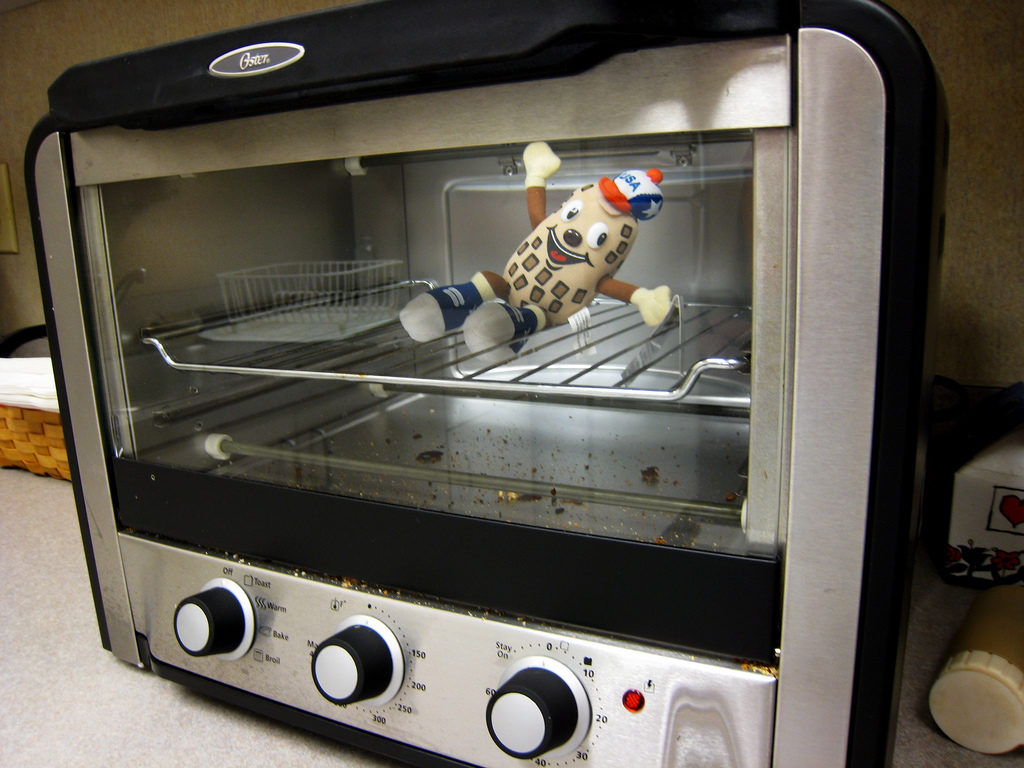 Keep Toaster Oven Clean after every use