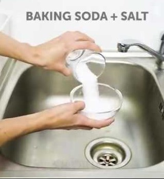How to Unclog Drain with Baking Soda and Salt? Making Mixture