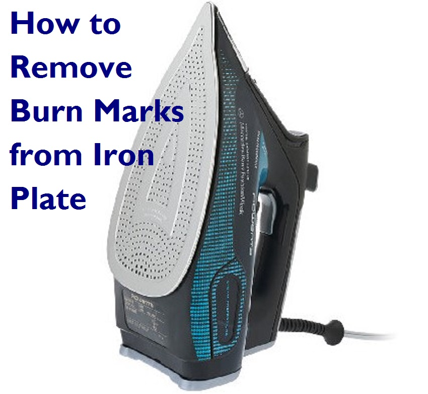 How to Remove Burn Marks from Iron Pate