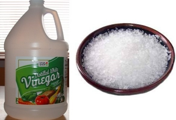 How to Remove Burn Marks from Iron Plate with Vinegar and Salt