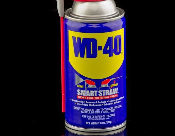 How to Remove Stickers from Glass Windows using WD-40