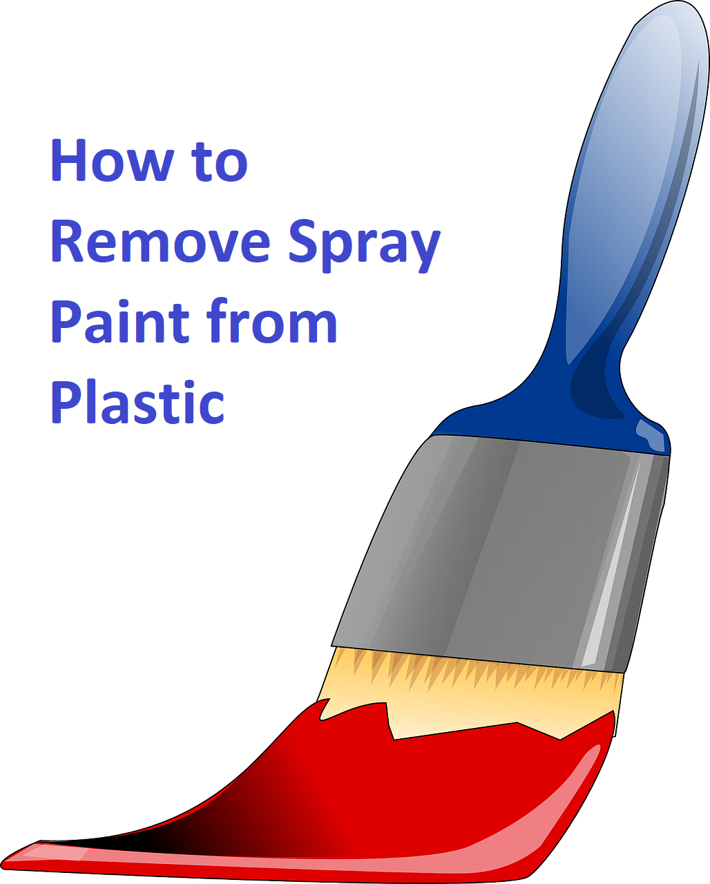How To Remove Spray Paint From Plastic >> How To Remove Spray Paint From Plastic Homeaholic Net