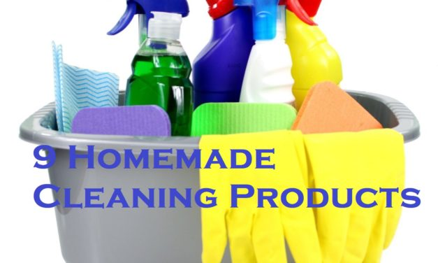 9 Homemade Cleaning Products
