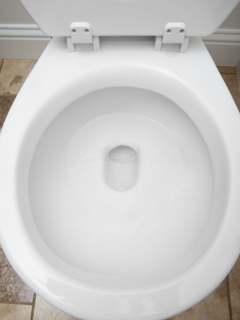 Baking Soda and Vinegar Cleaning Solution for Toilet Bowl Cleaner