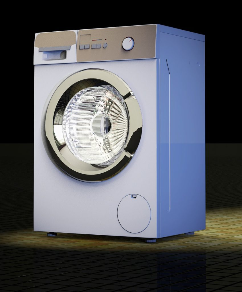 Baking Soda and Vinegar Cleaning Solution to Clean Washing Machine