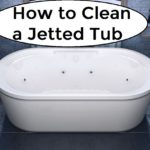 how to clean a jetted tub with baking soda