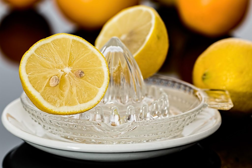 Removing Coffee Stain with Lemon Juice